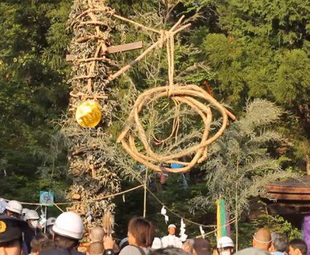 藤切り祭り
